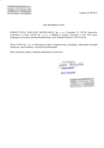 obrazek do wpisu List referencyjny z Szkoły Podstawowej w Krzeczynie  – Naprawa rozdzielnicy, dachu, wymiana lamp