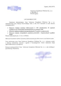 obrazek do wpisu List referencyjny z Legnickiej Spółdzielni Mieszkaniowej