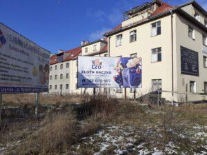 Reklama usługi abonament Złota Rączka dla firm i instytucji przy ulicy Rzeczypospolitej w miejscowości Legnica.