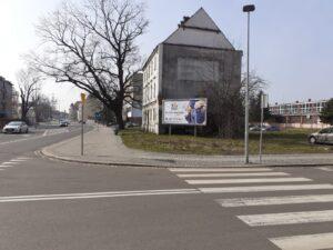 Reklama usługi abonament Złota Rączka dla firm i instytucji przy ulicy Jaworzyńskiej w miejscowości Legnica