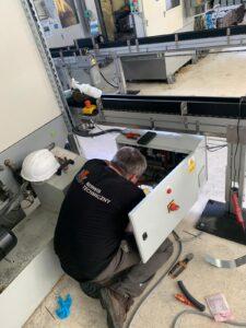 obrazek do wpisu Podłączanie maszyn na zakładzie produkcyjnym Sanden